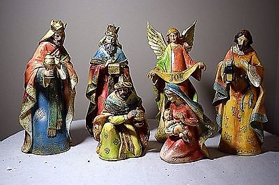 The Promise of Christmas by Robert Stanley 6 Piece Deluxe Nativity Set - 2013