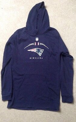 New England Patriots NFL Youth Hoodie Navy - Size XL - Age 18-20 Years