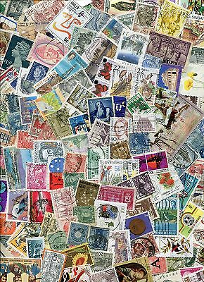 STAMPS KILOWARE OFF PAPER 25g MIXED COUNTRIES GOOD SELECTION YOU GET ALL YOU SEE