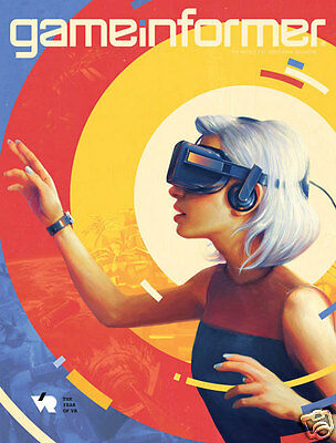 Game Informer Us Edition - The Year Of  Virtual Reality January 2016 Vr
