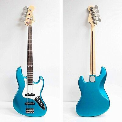 Fender Japan JB-45M Jazz Bass Blue Basswood Body Used Electric Bass Guitar Deal