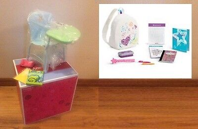 American Girl Doll School Desk and Doodle Backpack Set Both Brand New in Box