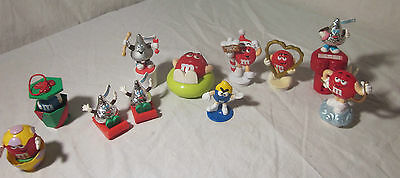 Collectible Mars Kisses M&M Characters Easter, XMAS, Valentines 11 Pieces