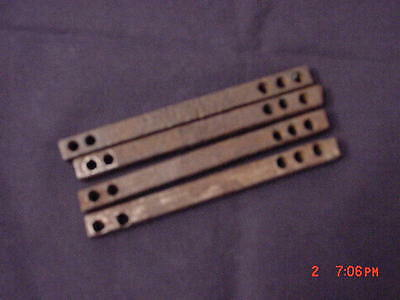 4 Matching Antique Door Knob Spindles/ Shanks