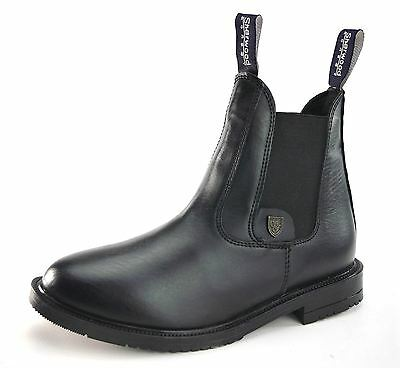 Sherwood Forest Alton Riding Jodphur Pull On Black Boot Mens Ladies Child