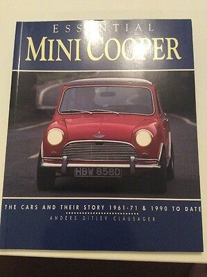 Essential Mini Cooper The Cars & Their Story 1961-71 & 1990 to date by Clausager