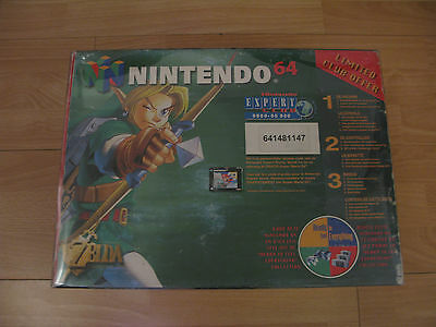 -= Console Nintendo N64 =- Pack Zelda Ocarina of time / Complet / TBE / PAL