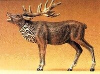 Preiser 47701 G Scale Stag bellowing