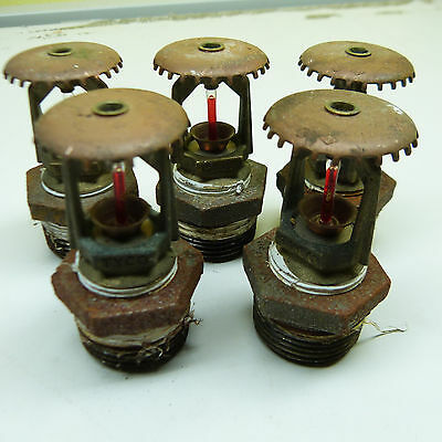 $5 Blow Out Sale: LOT OF 5 COMMERCIAL FIRE SPRINKLERS (B12)