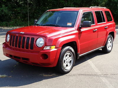 2008 Jeep Patriot Sport 2.4L 5-SPEED! GAS SAVER! WINTER READY! NO RESERVE 26MPG AVERAGE 4-CYLINDER HEATED SEATS COLD A/C KEYLESS ENTRY
