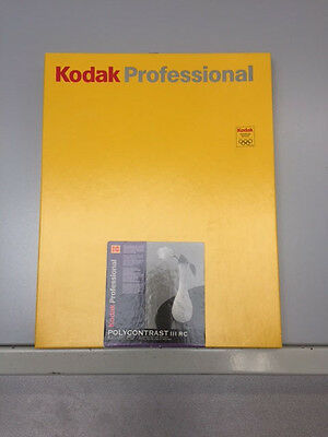 Kodak Pro Polycontrast III RC Glossy Photo paper - SEALED and Cold stored!