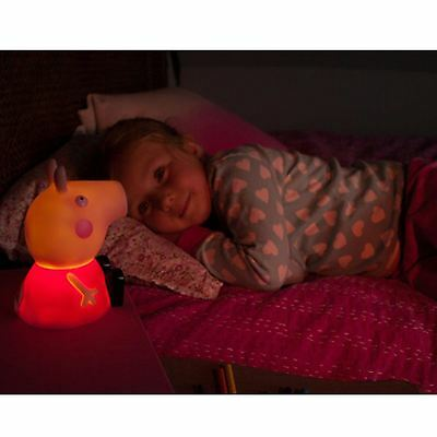 Peppa Pig Illumi-Mate Led Cambia De Color Lámpara Mesilla
