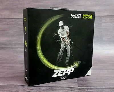 Zepp Golf 3D Swing Analyzer for iPhone or Android - New & Sealed