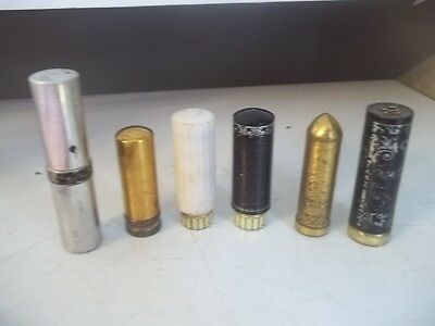 Vintage Estate Find Lipstick Tube Lot Mixed Brand