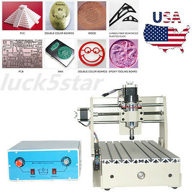 3Axis CNC 2015T Router Engraver Engraving Drilling Milling CARVING Woodworking