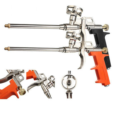 Pro Spray Foam Expanding Gun Dispensing Polyurethane Insulating Applicator Metal