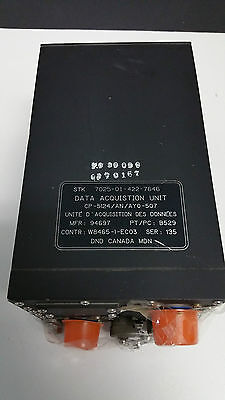 7025-01-422-7646 Data Acquisition Unit  CP-5124/AYQ-507