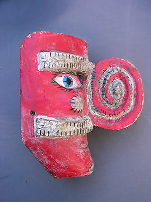 Moro Pasion Mask, Mexican, Rare Type, 1960's