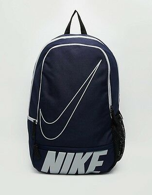 Nike Classic North Backpack Rucksack School Gym Holiday Travel Bag Navy