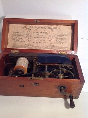 Magneto Electric Machine Nervous Diseases Medical F. McElroy