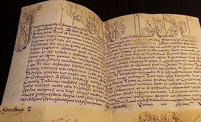 POPE INNOCENT XIII BULLA 1721 - Very Rare Parchment