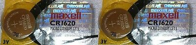 Watch Car Remote Maxell Orignal Hologram Micro Lithium Cell CR1620 From Canada