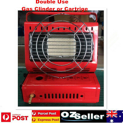 Portable Butane Gas Heater Outdoor Camper Camping Tent Hiking with Gas Connector