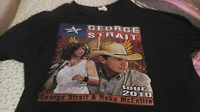 George Strait And Reba Mcentire 2010 Concert Tee-Size 2Xl