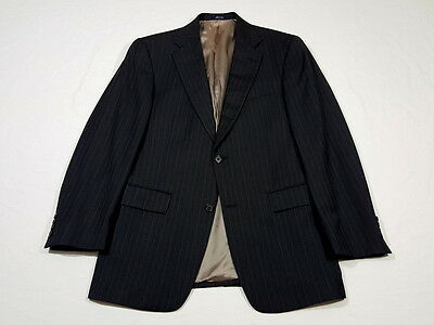 RECENT Hart Schaffner Marx for Nordstrom Navy Blue Pinstriped Suit 38 R