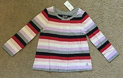 Toddler Girl Size 3 3T Baby Gap Striped Long Sleeve Top Shirt