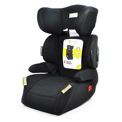 Infa Secure Vario Create Child Booster Seat - Raven, 4-8 Years Old