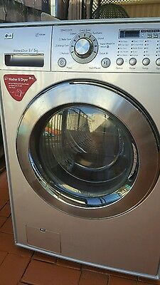 LG front loader washer and dryer 9kg spare parts