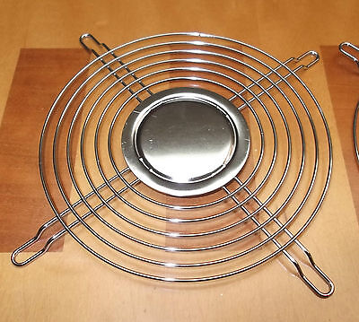 Fan Guard 120mm Guards Chrome 6 Ring Solid Disc G109-B6 Steel Wire x 2 pcs ONO
