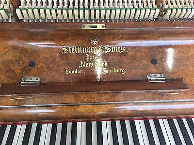 Steinway Upright Fitted With Latest Pianodisc iQ HD Wireless System