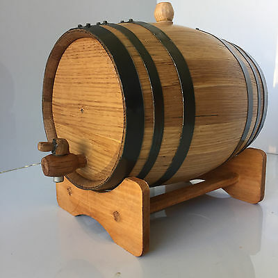 WhiskyBarrel - 5 ltr incl set(9) drinking stones