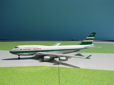 Cathay Pacific (Oc) 747-400 By Gemini Jets 1:400 Scale