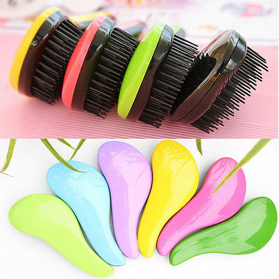 Magic Detangling Handle Tangle Shower Hair Brush Comb Salon Styling Tamer Tools