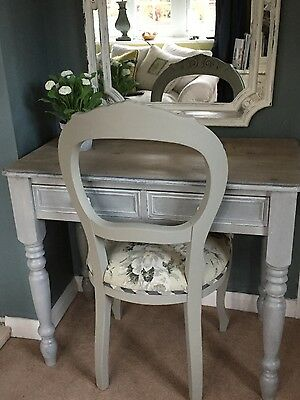 Shabby Chic Console Table or Desk