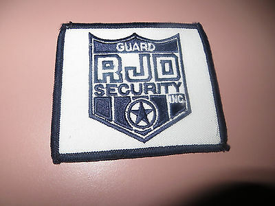 Embroidered Rjo Guard Security Patch