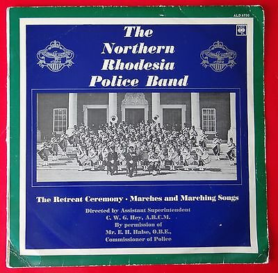 Rare Album - Northern Rhodesian Police Band- The Retreat Ceremony- Cbs Ald 6730