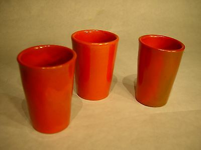 Catalina Island Set of 3 Tumblers Toyon Red