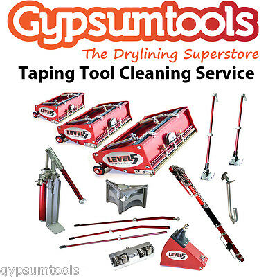 Drywall Taping Tool Cleaning & Repair  Service