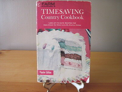 Farm Journal's TimeSaving Country Cookbook 1961 Collectible