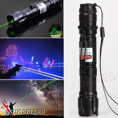 Professional 1mw 532nm 8000M Powerful Green Laser Pen Pointer Light Lazer Beam
