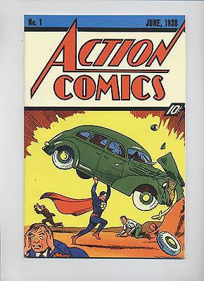 Superman # 37 - Flip-Cover Reprint Action Comics #1 - Dino Verlag - Z. 1
