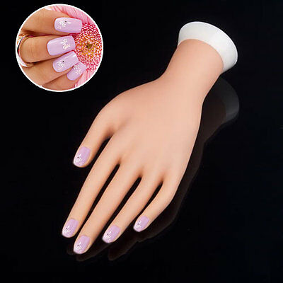 Practice Left Hand Model for Nail Art Training and Display Manicure Supply CR