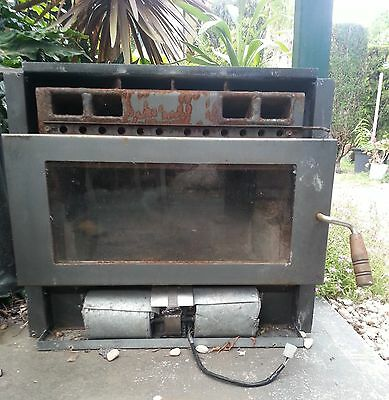 Clean Air Wood Heater and Flue approx 4m+