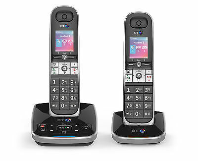 BT 8610 Twin Digital Cordless Phones With Advanced Call Blocking and Answering M