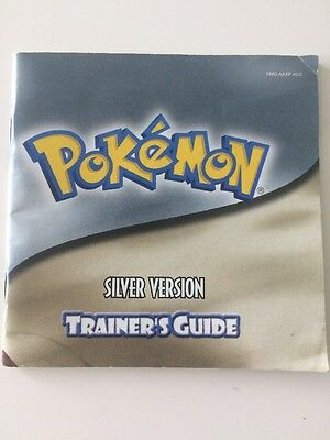 Gameboy Pokemon Silver Trainer's Guide (manual)