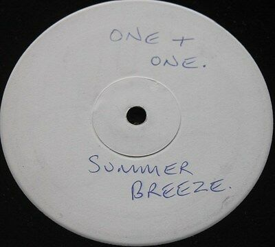 "ONE + ONE * SUMMER BREEZE * Classic Soul Funk Boogie 12"" Vinyl White Label"